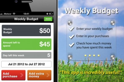 Get Your Personal Finances In Order With 'Weekly Budget'