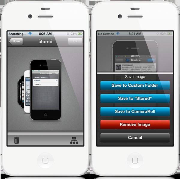Add iPhone-Frames To Your Handset's Self-Portrait Screenshots With This Jailbreak Tweak