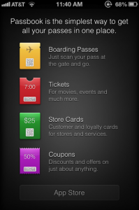 Could Passbook-Compatible iOS Apps Soon Appear In App Store?