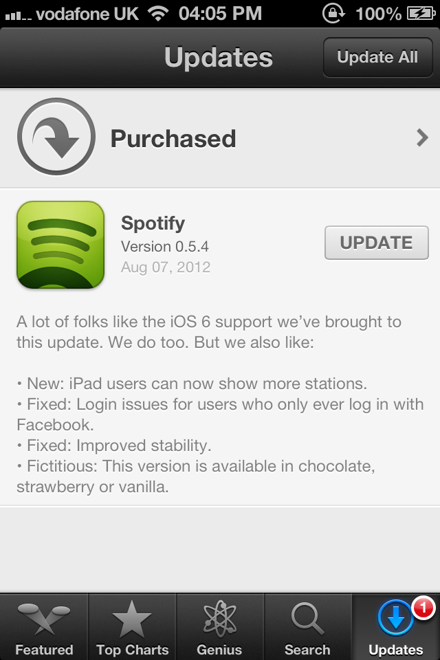 New Spotify Update Brings Additional iPad Stations, Support For iOS 6