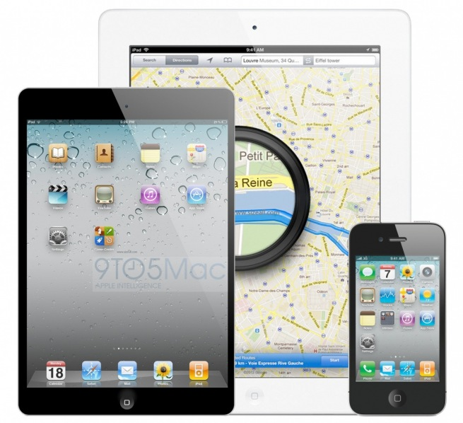 Could The iPad mini Look More Like A Big iPod touch?