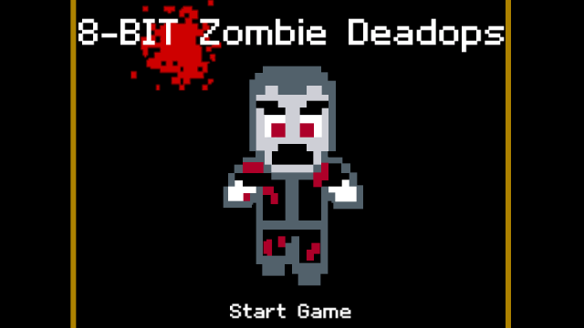 Destroy The Pixelated Zombie Hoard In The New 8-Bit Zombie Deadops