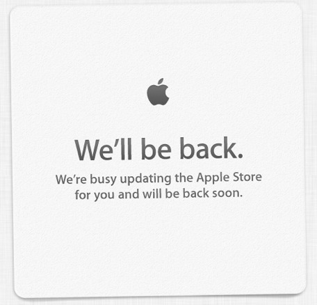 The Apple Online Store Is Down ...