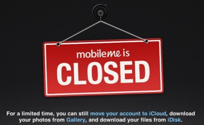 Farewell MobileMe, We Hardly Knew Ye: MobileMe, iWork.com Close For Good