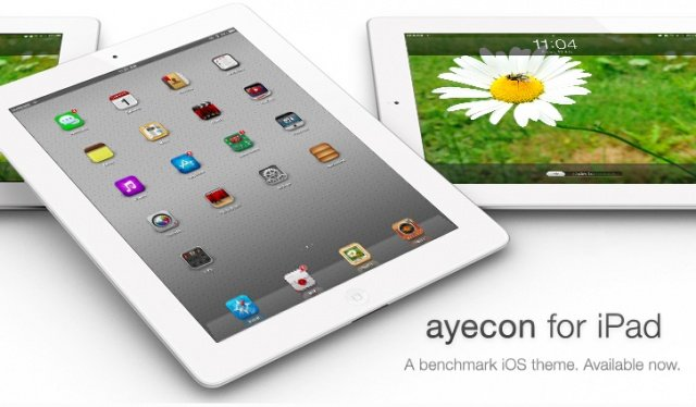 Give Your Jailbroken iPad High-Res, Super-Detailed Icons With New 'ayecon' Theme