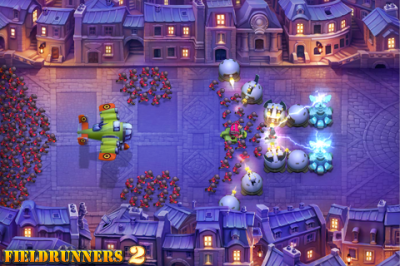 First Ever Update To Tower Defense Game Fieldrunners 2 Is The Bomb