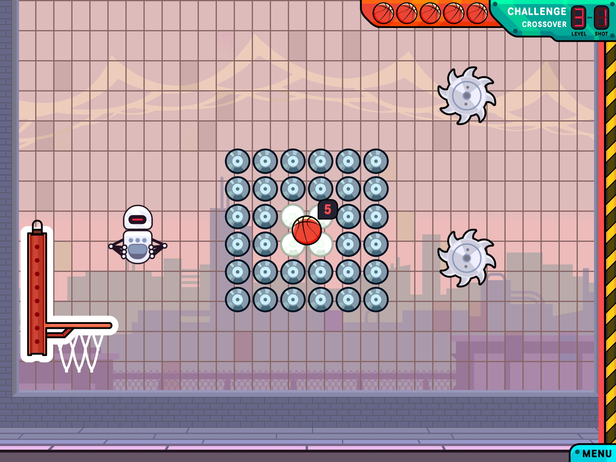 Gasketball Promises A Puzzling Mix Of Bank Shots And Buzz Saws