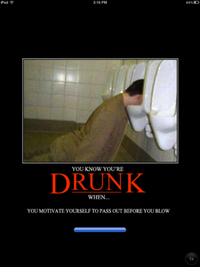 Quirky App Of The Day: You Know You're Drunk When You Need An App To Explain It To You