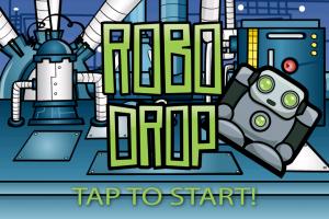 Robo Drop by Hapiapps screenshot