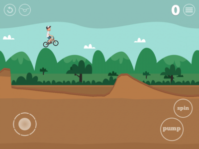 Land In Style Or Land On Your Head In Pumped: BMX