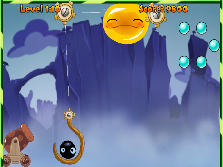 Blobs, Not Birds Fired In Jelly Cannon Reloaded