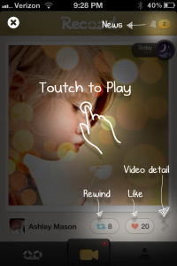 Recood Video Camera Pro by Ahiku Corp. screenshot