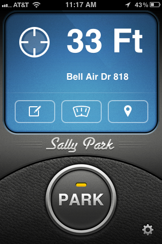 Sally Park Lets You Forget Where You Parked Without Losing Your Car