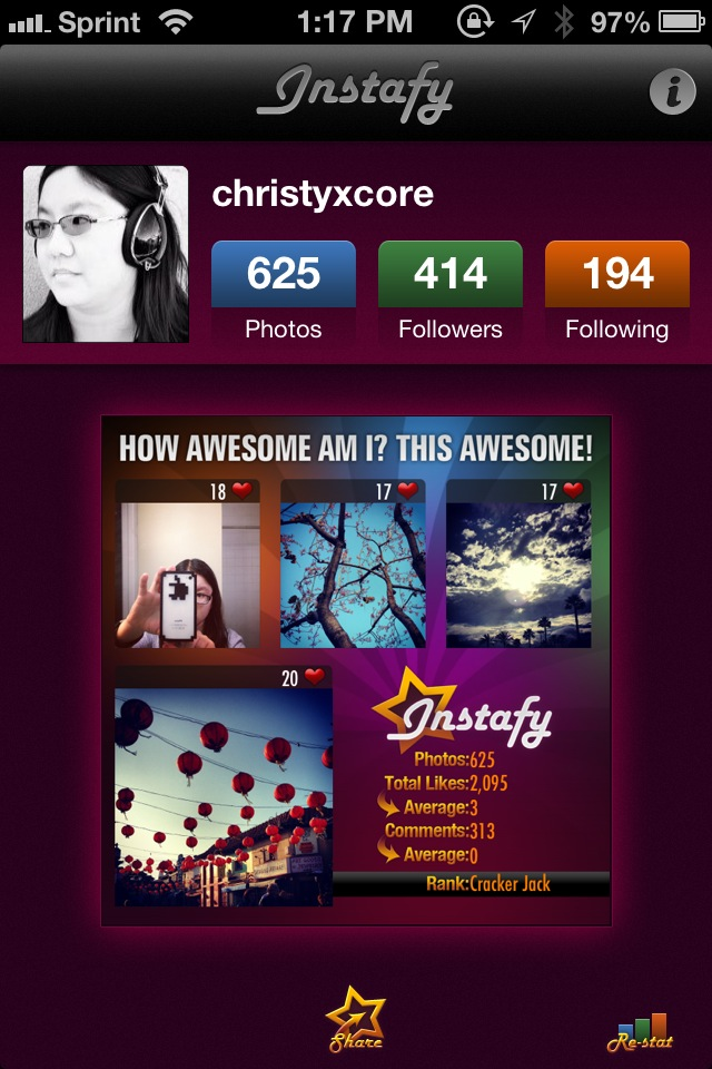 Get Stats About Your Instagram Profile Right On Your iPhone With Instafy