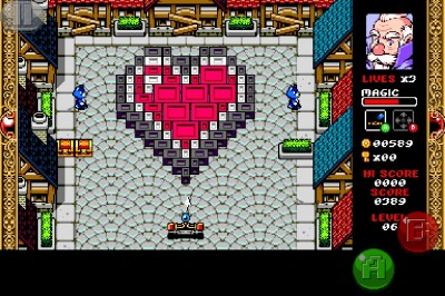 Get Your Retro RPG And Breakout Fix With Wizorb