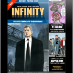 Panel Nine Releases Comic Book News Magazine, INFINITY For iPad