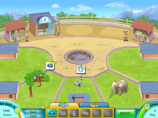 Take Care Of Exotic Animals And Manage Your Own Zoo In Jane's Zoo HD