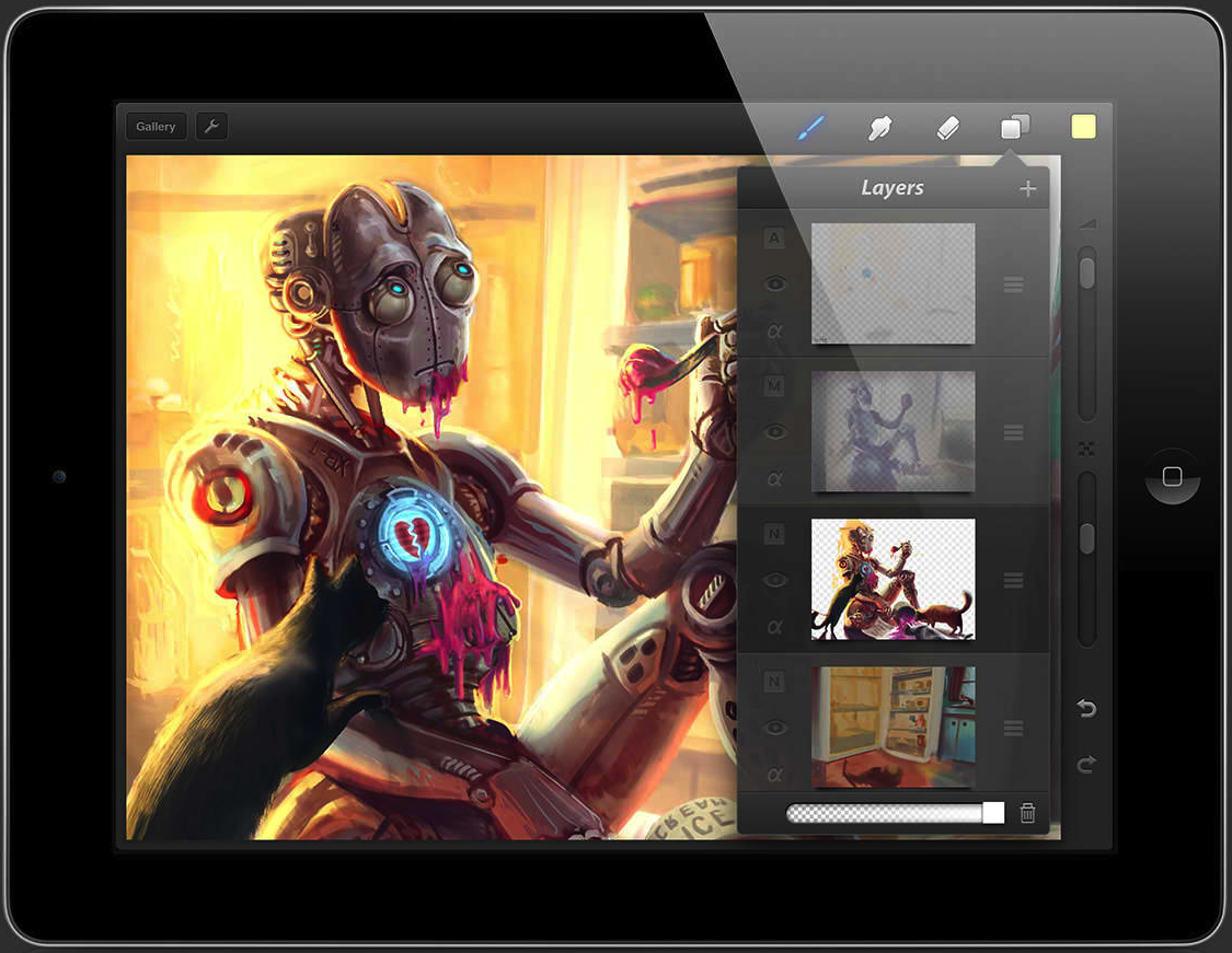 Procreate Proactively Adds Support For More iPad Styli