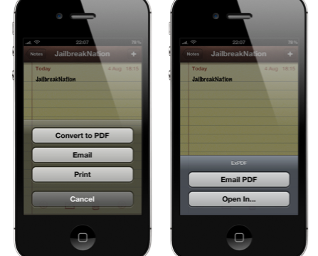 Jailbreakers Hoping To Create PDFs From The Notes App Should Look No Further