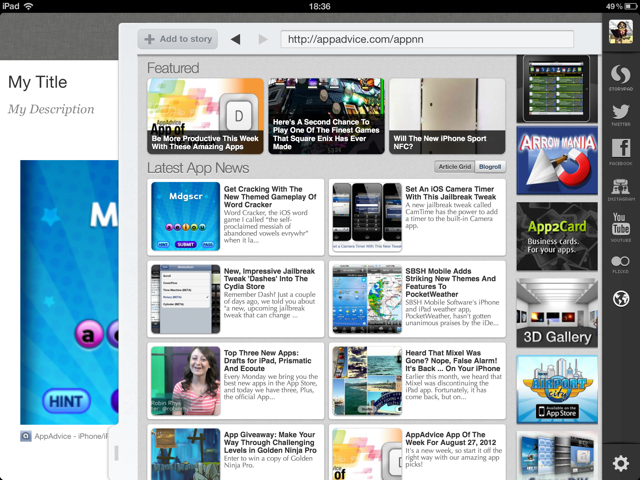 What's The Latest Story About Storify For iPad?