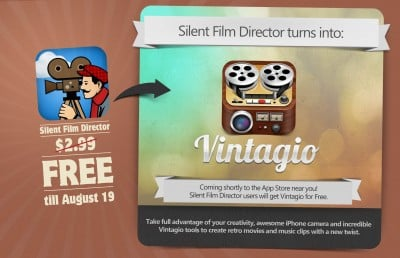 Silent Film Director Goes Free Ahead Of Imminent Update And Relaunch As Vintagio