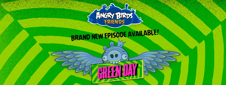 Where's Our Green Day Angry Birds App, Rovio?