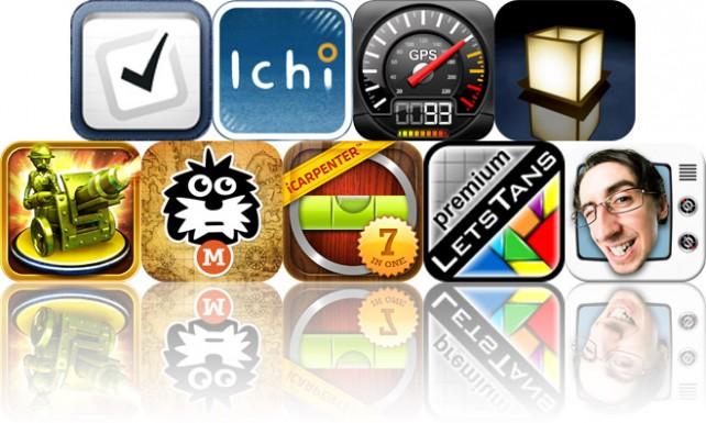 Today's Apps Gone Free: Pocket Lists, Ichi, Speedometer GPS And More