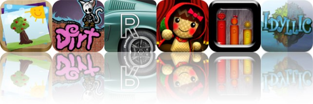 Today's Apps Gone Free: My Story - Book Maker For Kids, Dirt, Road Inc. And More