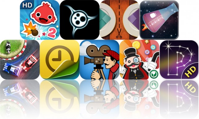 Today's Apps Gone Free: iBlast Moki 2, Perfect Cell, Foodivide And More