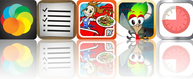 Today's Apps Gone Free: Lapse It Pro, Amazinglist, Cooking Dash: Thrills And Spills Deluxe And More