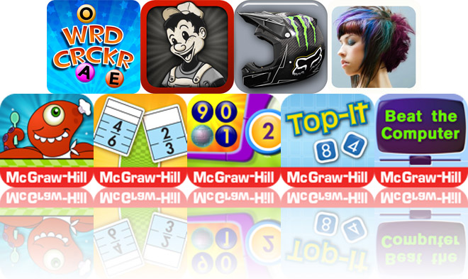 Today's Apps Gone Free: Word Cracker, Billy The Painter, Everyday Mathematics And More