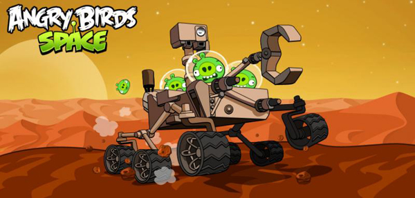 The Angry Birds Battle On The Red Planet In A New Update