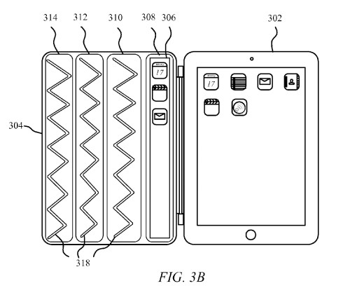 This Pending Patent Makes The iPad Smart Cover Look Like A Dumb Cover