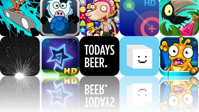 Today's Apps Gone Free: Starry Sky, Axon Runners, Today's Beer And More