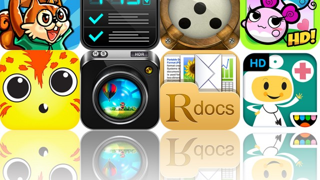 Today's Apps Gone Free: Alarm Clock And Day Reminder, Bouncy Mouse, ReaddleDocs And More