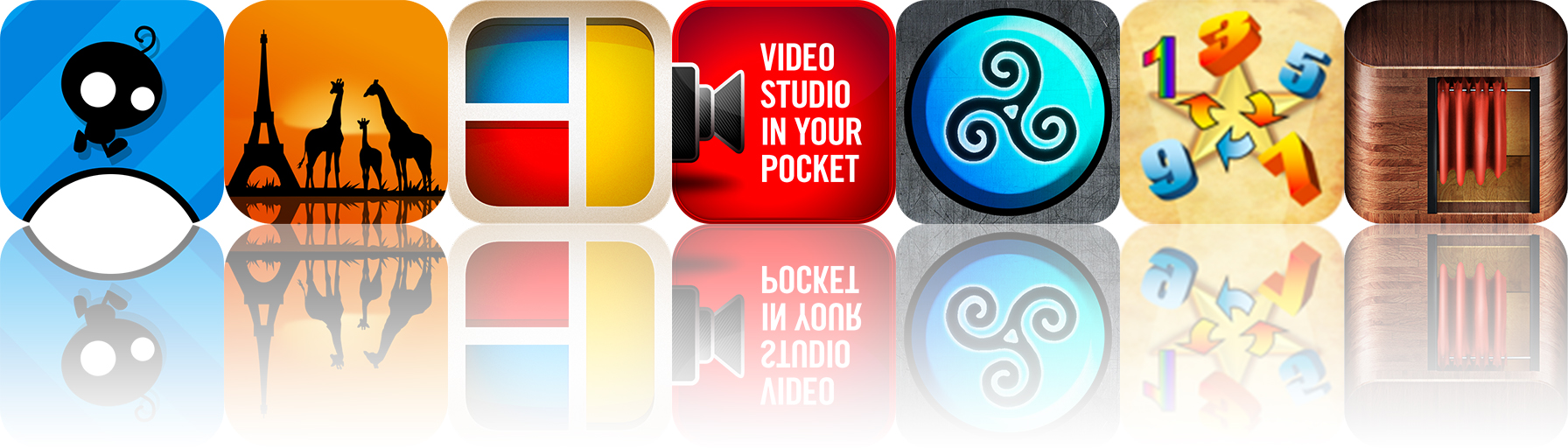 Today's Apps Gone Free: Video Camera, They Need To Be Fed, Geo Walk HD And More