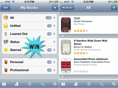 Manage That Big Bunch Of Physical Books By Winning A Copy Of BookBuddy For iPhone