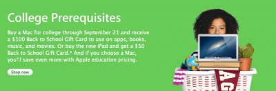 Apple's Back To School Sale Ends Sept. 21