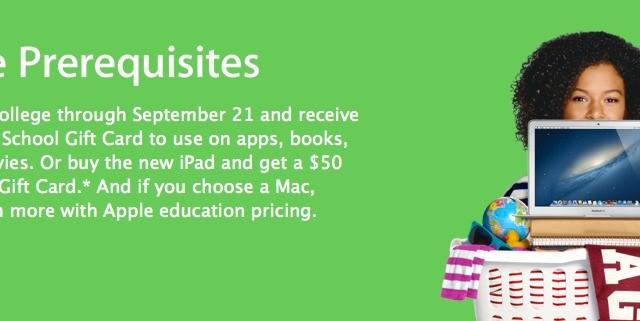 Apple's Back To School Sale Ends Sept. 21