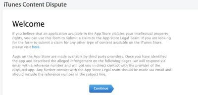 Apple Makes It Easier For Developers To Report Infringing Apps