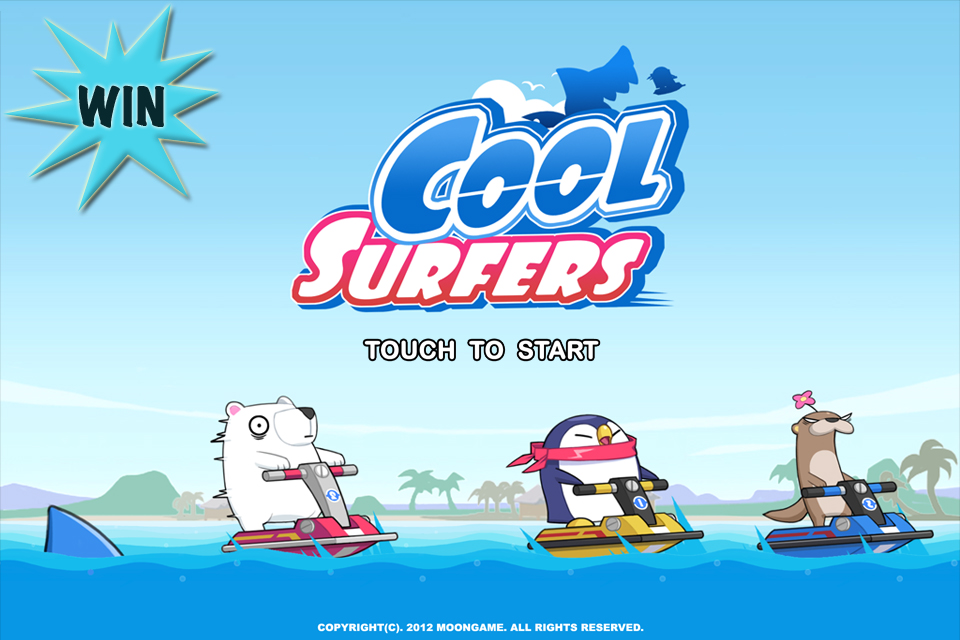 Surf Waves As A Cool Jet Ski-Riding Penguin For A Chance To Win A $10 iTunes Gift Card