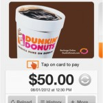 Mobile Payment System Highlights New Dunkin' Donuts App