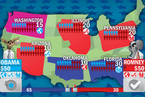 Think Politics Is A Game? Election War Room 2012 Might Be For You