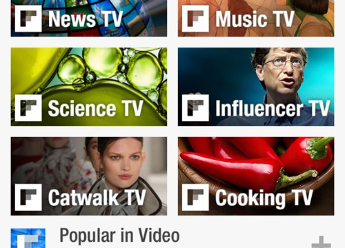 Flipboard Introduces Curated TV Channels Powered By YouTube
