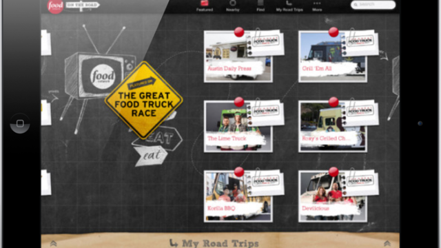 The Food Network On The Road Heads To Your iOS Devices
