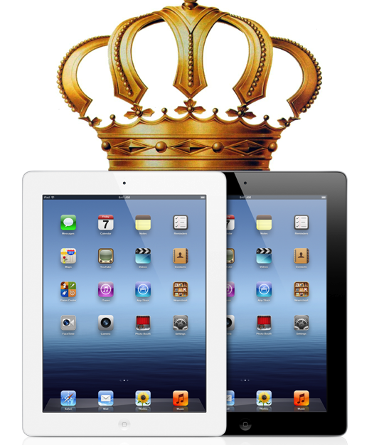 The iPad Remains The King Of The Tablet Market