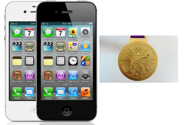 The iPhone 4S Wins Gold At 2012 Summer Olympics