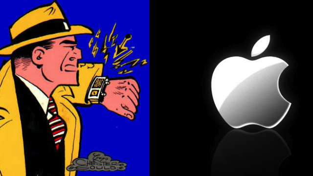 Apple Could Soon Pull A Dick Tracy
