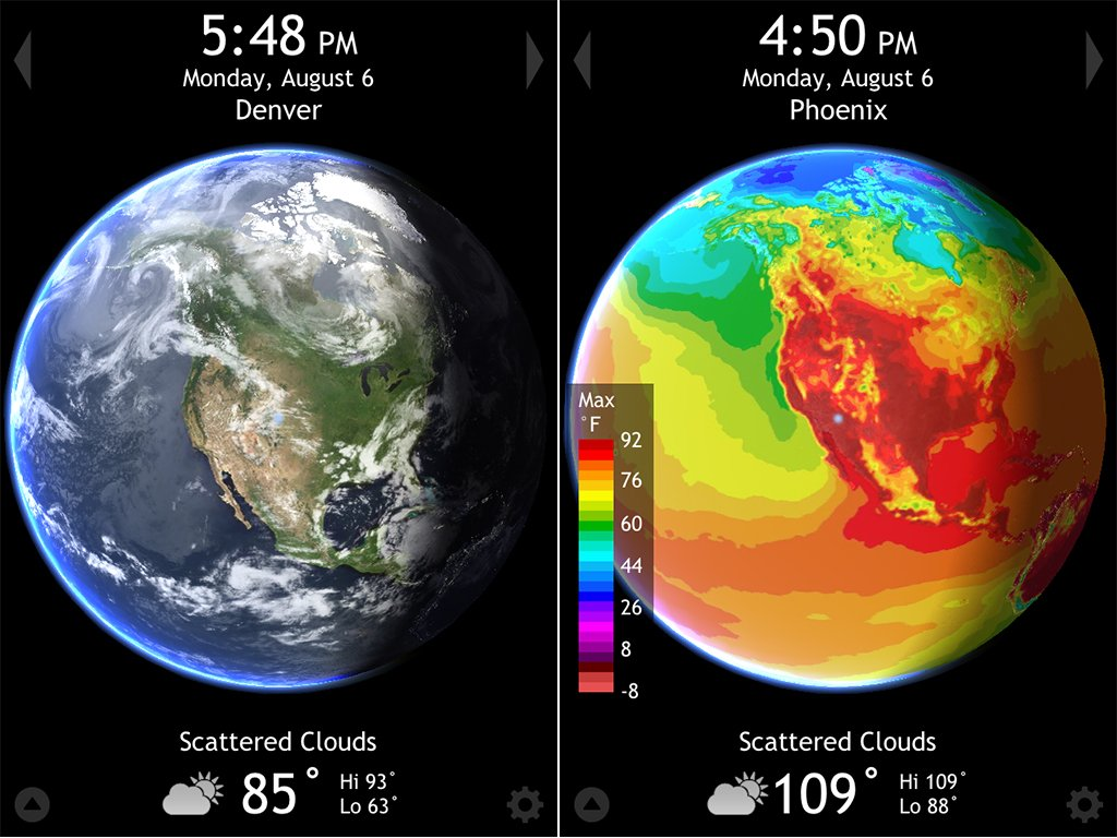 Radiantlabs Release Living Earth HD v2.0 Adding A New Degree Of Weather Depiction And More