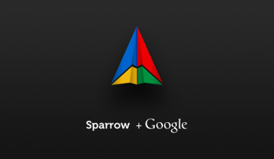 Sparrow For iPhone Starting To Show Its True Google Colors